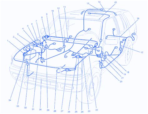 Isuzu Rodeo Blower Connector Electrical Circuit
