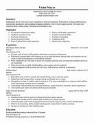 Server Resume Example Hotel Hospitality Sample Resumes Server Resume Sample My Perfect Resume Gallery For Simple Job Resumes For Waitress Server Resume Samples Free Free Resume Templates