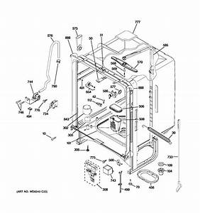 27 Ge Dishwasher Parts Diagram