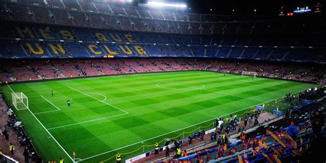soccer stadium fc barcelona camp nou manchester city