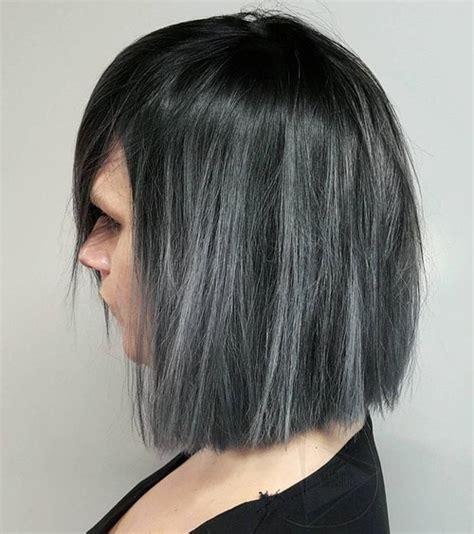 schattierungen des grauen haartrends beste frisuren