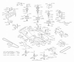 Dixon Grizzly 50  2005  Parts Diagram For Mower Deck