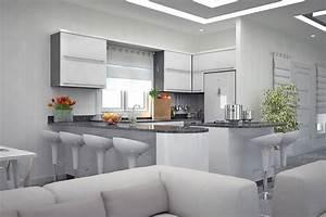 cuisine 10m2 plan With plan amenagement cuisine 10m2