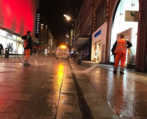 Cleaning Dublin's streets   Gum removal service   P Mac
