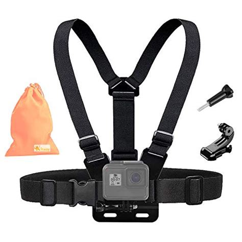 kitway chest mount harness adjustable chest strap elastic