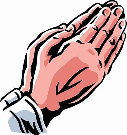 Clip Clipart Hands Praying Prayer Faith Cartoon