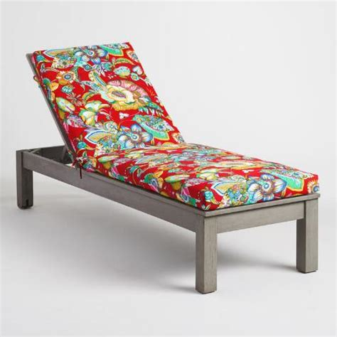 orchid outdoor chaise lounge cushion world market