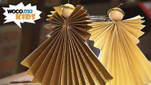 Stern Aus Butterbrotpapier Anleitung : weihnachtsengel basteln faltanleitung mit goldpapier ~ A.2002-acura-tl-radio.info Haus und Dekorationen