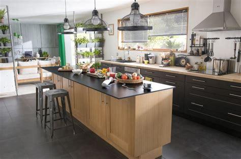 ilot centrale cuisine ikea comment agencer une cuisine castorama