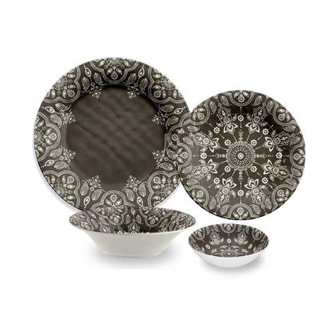 melamine dinnerware sets tarhong india st 16 piece melamine dinnerware set reviews wayfair