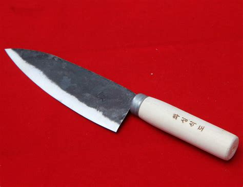 Forged Kitchen Knives by Rail Cast Iron Forged Knife Sashimi Deba Chef Kitchen