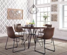 centiar  tone brown  dining room set  ashley