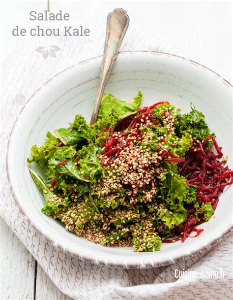cuisine vegetale salade de chou kale en vidéo détox cuisine bio