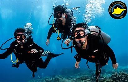 Water Scuba Diveconcepts Underwater