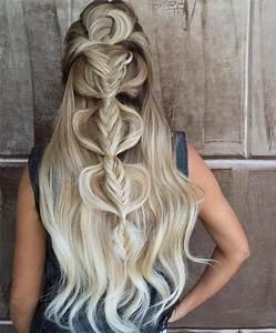Coiffure Blonde Mi Long : 2895 best coiffures images on pinterest ~ Melissatoandfro.com Idées de Décoration