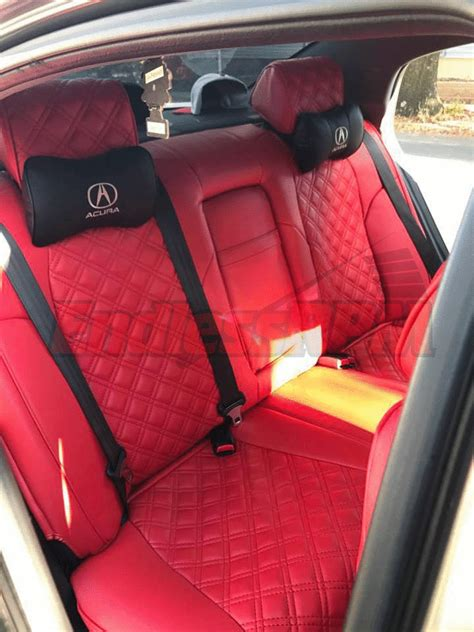 Acura Tsx Seat Covers by Custom Clazzio Seat Covers Tl Tsx Accord In Stock No