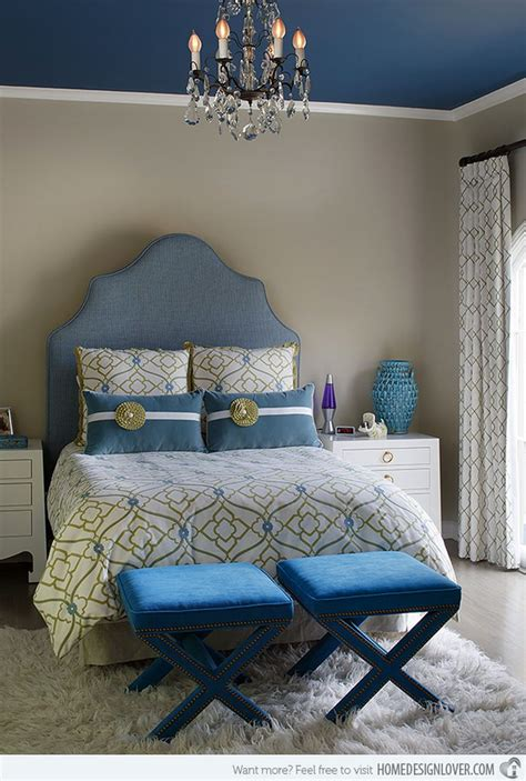 Blue And Bedroom by 20 Deluxe Blue And Gold Bedroom Designs