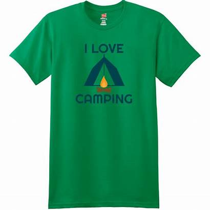 Camping Shirt Colorado Flag Mountains Custom Kelly