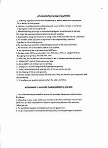 Rules And Regulations  U2013 North Industry Sportsmen U0026 39 S Club