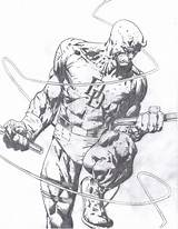 Daredevil Drawing Coloring Drawings Comics Marvel Comic Pages Pencil Draw David Finch Comments Getdrawings Coloringhome sketch template