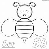 Bee Coloring Bumble Bumblebee Sheets Animal Printable sketch template