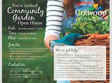 Community Garden Open House The City of Colwood
