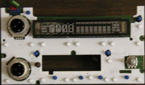 gm radio controldisplay board bulbs  trucksuv cd cd