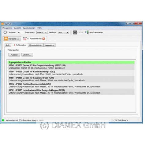 Tremex4000 + Carport Lizenz Vag = Obd2 Profi Bundle Für Vw