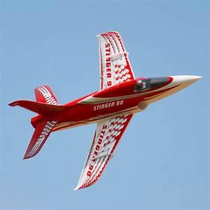 Electric Rc Aircraft Stinger 90 Mm Metal Edf Airplane