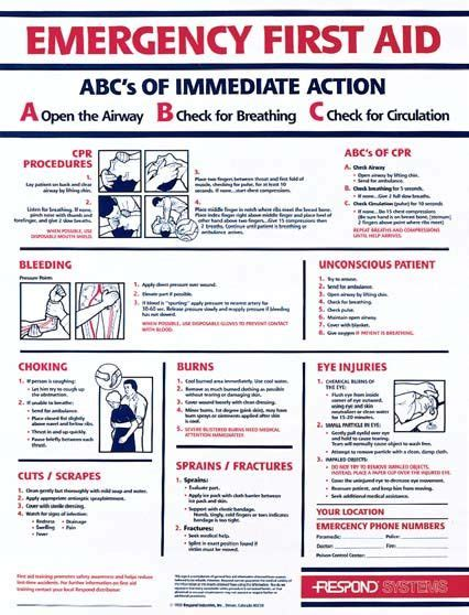 aid poster  aid  safety  aid poster