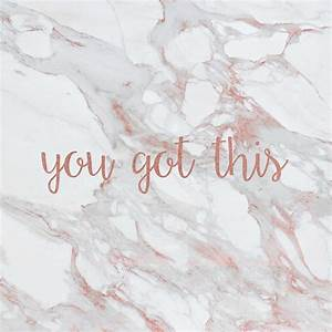 """""""You Got This Rose Gold Marble"""" Posters by skoemil Redbubble"""