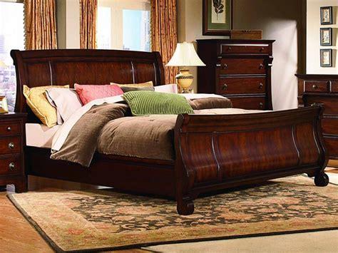 Queen Sleigh Bedroom Set  Home Furniture Design