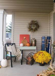 Fall, Front, Porch, A, Mix, Of, Diy, And, Rustic, Decor, U2022, Our, House, Now, A, Home