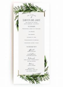 sample of wedding programme wedding programs wedding program wording