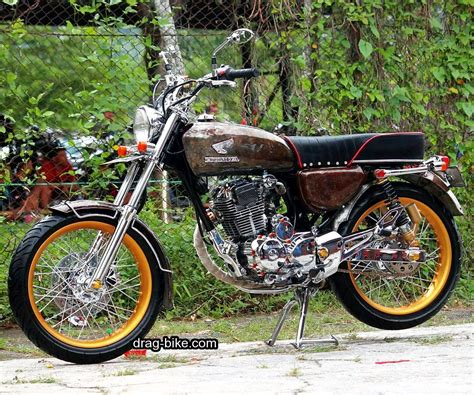 Honda Cb 100 Modifikasi by Gambar Modifikasi Motor Cb 100 Simple Vintage Moto