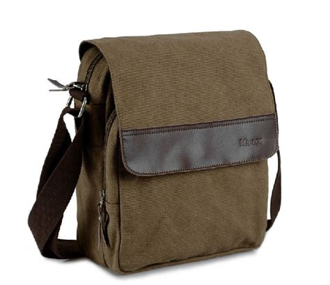canvas messenger bag personalized messenger bags  men yepbag