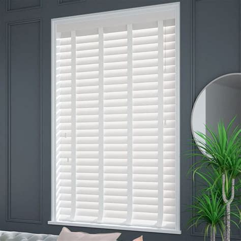 Wooden Blinds by White Wooden Blinds With Fast Shipping Free