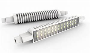 Ampoule Led R7s 50w : ampoule led r7s slim fit 1055lm 4000k xanlite pro ref ~ Edinachiropracticcenter.com Idées de Décoration