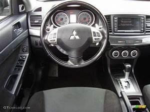 2008 Mitsubishi Lancer Gts Black Steering Wheel Photo