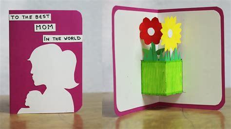 diy birthday cards  mom handmade birthday cards youtube