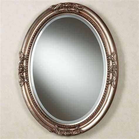 oval bath mirror andina oval wall mirror