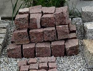 Granit Pflastersteine Größen : granitpflaster 8 11 cm rot mittelkorn granitpflastersteine natursteine 100 frostsicher ~ Buech-reservation.com Haus und Dekorationen