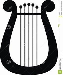 Harp clipart apollo lyre - Pencil and in color harp ...