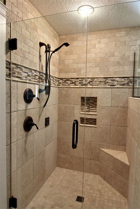 beautiful walk  shower master bathroom shower master