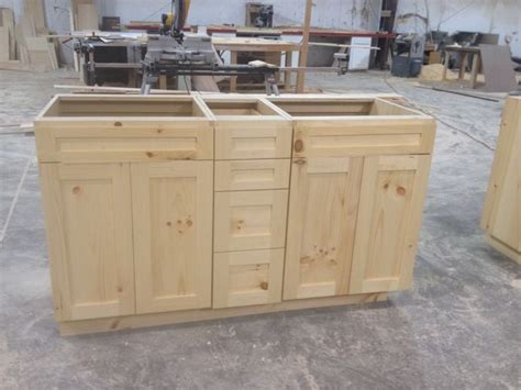 knotty pine bathroom vanity cabinets knotty pine vanities frameless with natural finish turned