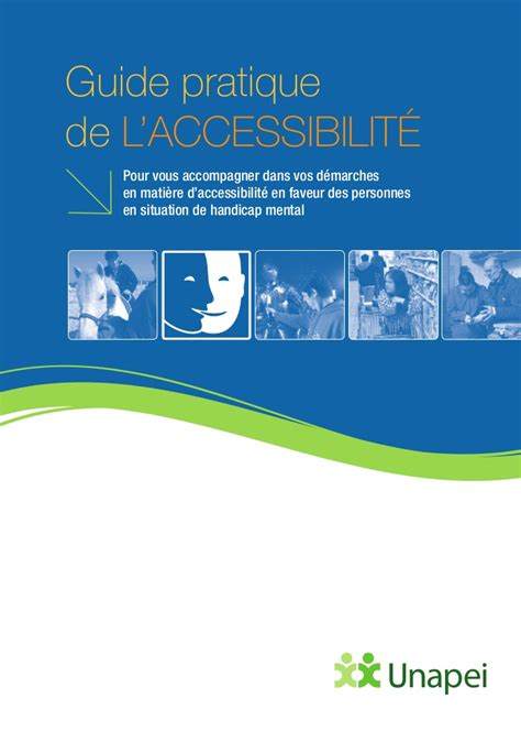 bureau pratique guide pratique de l accessibilite edition unapei