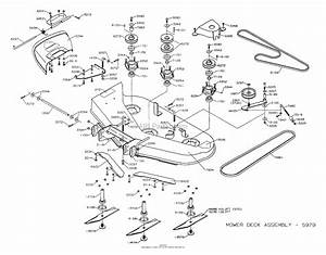 Dixon Ztr 4518k  2003  Parts Diagram For Mower Deck 42 U0026quot