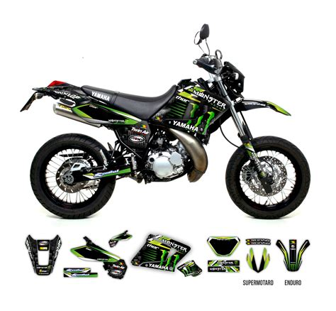 Kawasaki Ksr Pro Backgrounds by Yamaha Dt 125 Re X Graphics Series Tmx Graphics