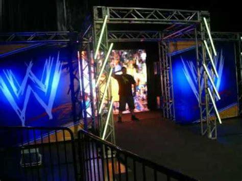 cena miz entrance  wrestlemania axxess youtube
