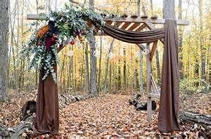 wedding draping fabric 20 wedding ceremony backdrops for fall brit co